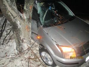 Повреждения автомашины