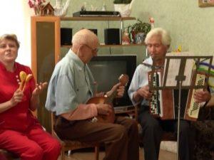 пенсионеры дом престарелых Южноуральск