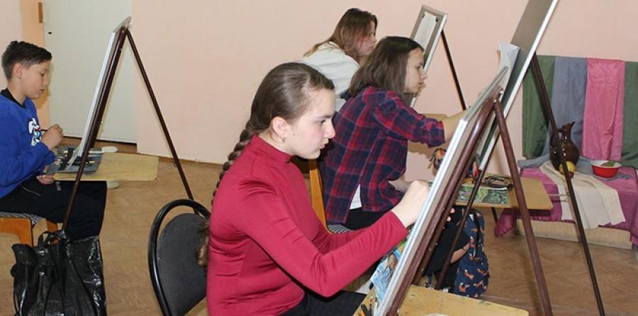 Конкурс юных художников «Радужная палитра»