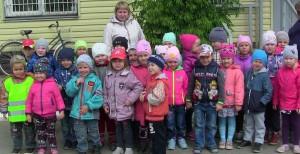 Детсадовцы посетили полицию