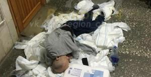 Инвалида оставили ночевать на полу