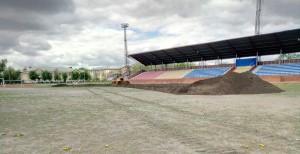 Реконструкция на стадионе