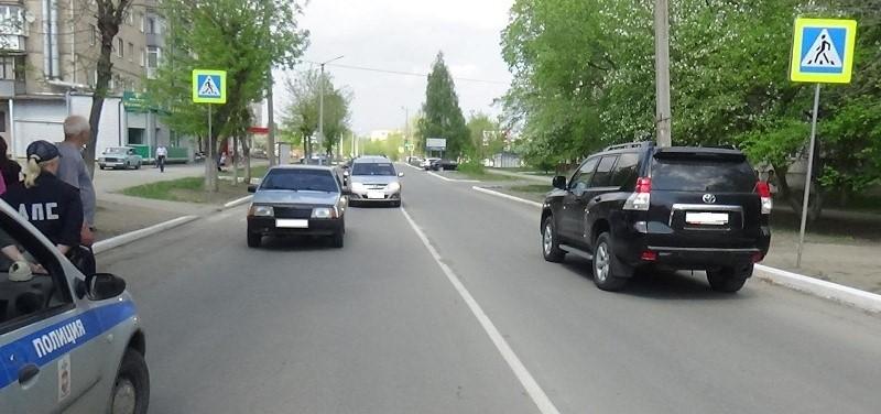 В Южноуральске произошла авария с участием пешехода